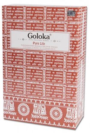 Goloka Life Sandelholz Räucherstäbchen