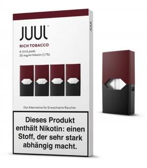 JUULpod Refill Kit Rich Tobacco 4 Pods