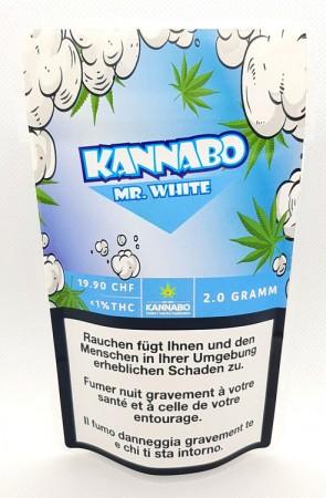 Kannabo Mr. White CBD Hanfblüten Tabakersatz