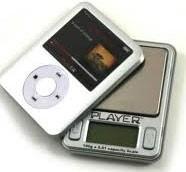 MP3-Player Digitalwaage 100 x 0,01
