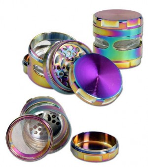 Metallgrinder 4-tlg. ölfarben