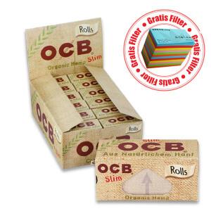 OCB Organic Hemp Rolls Slim