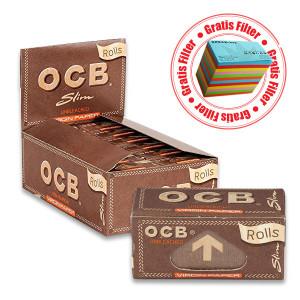 OCB Rolls ungebleicht / unbleached