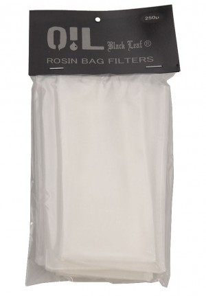 Oil Black Leaf Rosin Bag Filterbeutel 250µm 10 Stk.