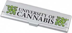 Metallhülle University of Cannabis