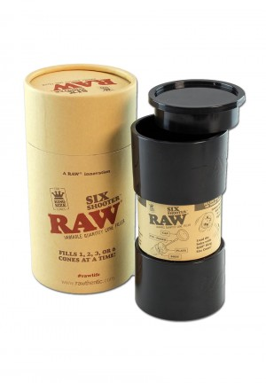 RAW Six Shooter Variabler Cone Filler King Size