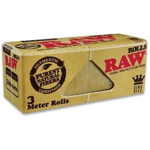 Raw Natural KingSize Rolls