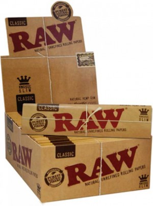 Raw Natural KingSize Slim Papers