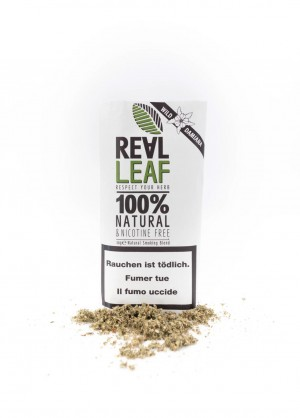 Real Leaf Wild Damiana nikotinfreier Tabakersatz
