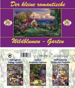 Der kleine romantische Wildblumen-Garten