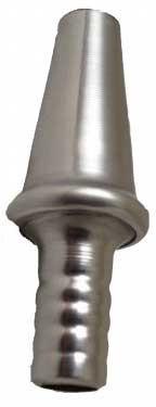 Metall-Verbindungsstück für Silikonschlauch