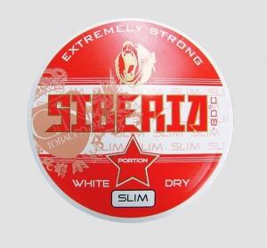 Siberia Rot Slim White Dry Snus 13g
