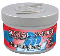 Social Smoke Blue Raspberry