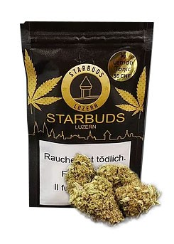 Starbuds Lemon Tonic  Hanfblüten Tabakersatz