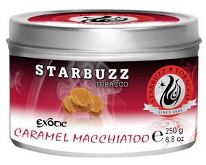 Starbuzz Exotic Caramel Macchiato 250g