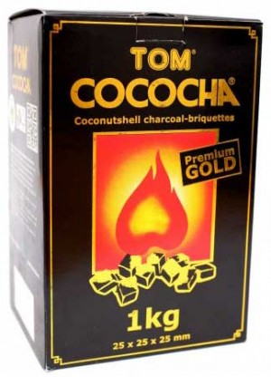 Shishakohle Tom Cococha GOLD 1kg
