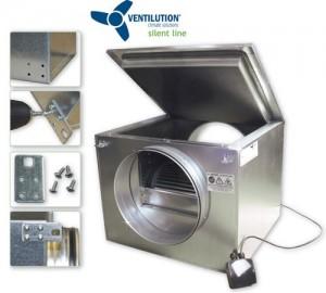 Ventilution Silent Line Box 125