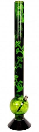Acrylic Green Mushroom Bong 60cm