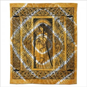 Batiktuch Peace Angel XL