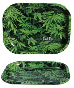 Black Leaf Hemp Mischschale Small