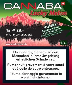 Cannaba Lucky Melon Hanfblüten Tabakersatz
