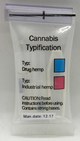 Cannabis Typisierungs-Test