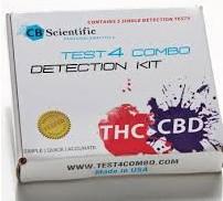 CB Scientific Test 4 THC+CBD Combo Detection-Kit