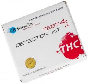 CB Scientific Test 4 THC Detection-Kit