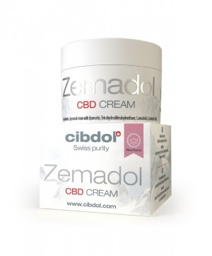 Cibdol CBD Cream Zemadol 50ml