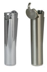 Clipper Classic Metallic Benzin Feuerzeug