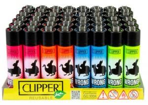 Clipper Feuerzeug Wrong