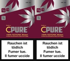 CPure Fedtonic Outdoor CBD Hanf Tabakersatz