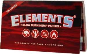 Elements Red - Single Wide Double Pack