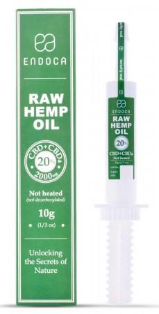 Hemp Oil 20% CBD + CBDa 10g