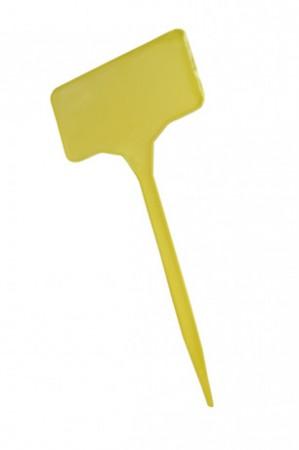 Gelbe Stecketiketten 15 cm