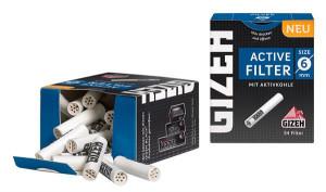 Gizeh Black Active Aktivkohlefilter 6mm