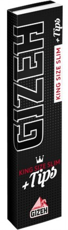 GIZEH Extra Fine King Size Slim Papers + Filtertips