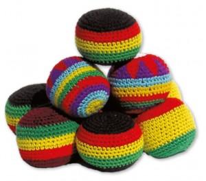 Hackysacks aus Baumwolle