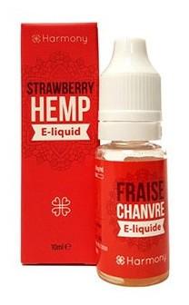 Harmony CBD-Liquid Strawberry Hemp 10ml