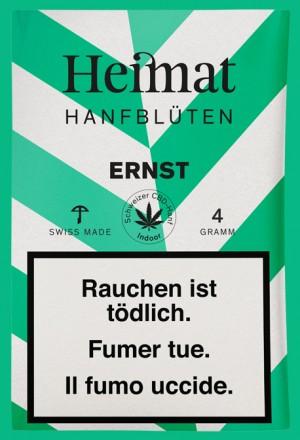 Heimat Hanfblüten Ernst CBD-Tabakersatz