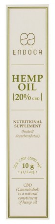 Hemp Oil 20% CBD 10g