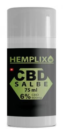 Hemplix Salbe 6% CBD 75ml