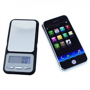 Fuzion iPhone-Waage 500g x 0.1g