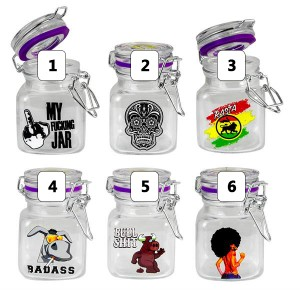 Juicy Jar Glas small 80ml mit Motiv