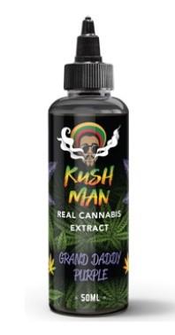 Kush Man Terpen E-Liquid-Zusatz Grand Daddy Purple 50ml