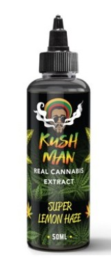Kush Man Terpen E-Liquid-Zusatz Super Lemon Haze 50ml