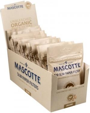 Mascotte Slim Paper Filters Unbleached