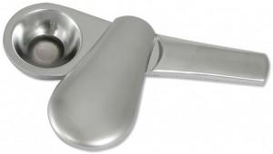 Metall Pur-Pfeife mit Schiebedeckel
