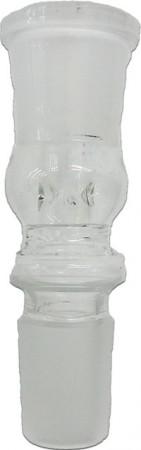 Ölkopf aus Quarzglas für 20mm Heizspirale