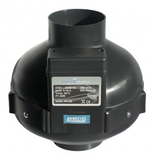 PK Rohrventilator 100 280m3/h